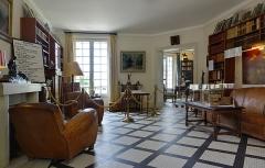 Maison dite la Boisserie - Français:   Intérieur de la Boisserie à Colombey-les-Deux-Églises (Haute-Marne, France).
