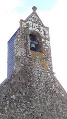 Chapelle et enceinte fortifiée de Loré - Français:   chapelle castrale du 15e, vestige du château de naissance d\'Ambroise de Loré