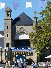 Eglise Saint-Martin - Français:   Pardon à l\'Église Saint-Martin de Josselin