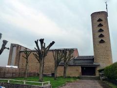 Eglise de la Nativité de la Vierge -  Église de la Nativité-de-la-Vierge de Fleury