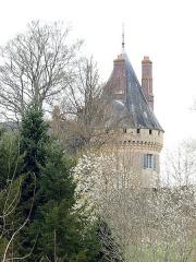 Château de Luanges - Français:   Château de Luanges à Urzy (Nièvre, France).