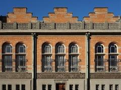 Hôtel de ville - Français:   Vue d\'une travée arrière de l\'hôtel de ville de Lille.