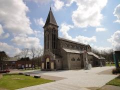 Eglise Saint-Martin dite Notre-Dame des Glaces -  Eglise Saint-Martin de BOUSSOIS