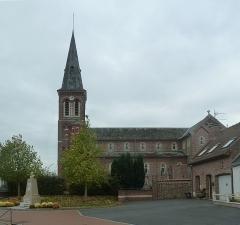Eglise Saint-Martin -  Masny  (France, dépt. Nord),  l'église Saint-Martin
