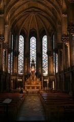 Cathédrale Notre-Dame de la Treille -  La Sainte Chapelle dans la  Cathédrale de Notre Dame de la Treille, Lille Nord (département français)