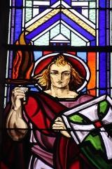 Chapelle de l'ancien petit séminaire dite Chapelle du Souvenir - Français:   Louis Barillet chapelle du souvenir Flers 1