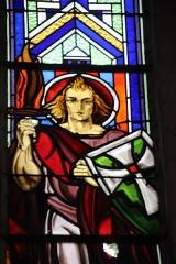 Chapelle de l'ancien petit séminaire dite Chapelle du Souvenir - Français:   Louis Barillet chapelle du souvenir Flers