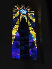 Eglise Saint-Edouard de la cité n° 12 de la compagnie de mines de Lens - Français:   Église Saint-Édouard des cités de la Fosse n° 12 de la Compagnie des mines de Lens, Lens, Pas-de-Calais, Nord-Pas-de-Calais, France.