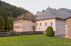 Ancienne abbaye de Sixt - English:  Sixt abbey in commune of Sixt-Fer-à-Cheval, Haute-Savoie, France