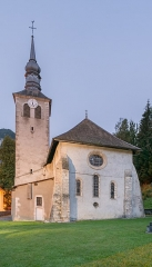 Ancienne abbaye de Sixt - English:  Mary Magdalene church in Sixt-Fer-à-Cheval, Haute-Savoie, France