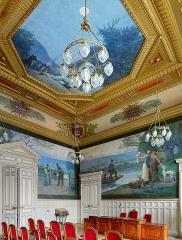 Mairie du 15e arrondissement - Français:   Salle des mariages de la mairie du 15e arrondissement de Paris
