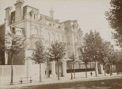 Ancien hôtel particulier de Roland Bonaparte - Français:   L\'hôtel Bonaparte en 1896