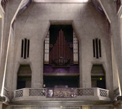 Eglise Saint-Jean-Bosco - Français:   Église Saint-Jean-Bosco (Inscrite) n° 77,79 rue Alexandre-Dumas - Paris XX