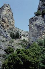 Chapelle Notre-Dame de Beauvoir -  Alpes-De-Haute-Provence Moustiers-Sainte-Marie Notre-Dame-de-Beauvoir