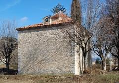 Baptistère dit le Panthéon (chapelle circulaire) - Français:   France - Alpes-de-Haute-Provence - Riez - baptistère paléochrétien (5e siècle)