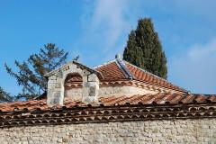 Baptistère dit le Panthéon (chapelle circulaire) - Français:   France - Provence - Riez - baptistère paléochrétien