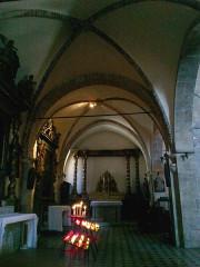 Eglise de la Conversion de Saint-Paul -  Saint-Paul-De-Vence Eglise Saint-Paul Bas Cote Gauche