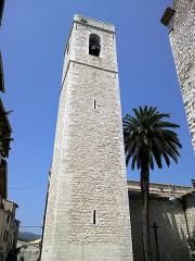 Eglise de la Conversion de Saint-Paul -  Saint-Paul-De-Vence Eglise Saint-Paul Clocher