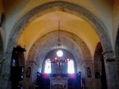 Eglise de la Conversion de Saint-Paul -  Saint-Paul-De-Vence Eglise Saint-Paul Nef 11072015