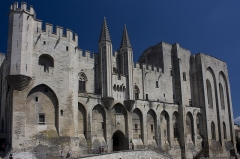 Palais des Papes - English:   Palace of the Popes of Avignon.