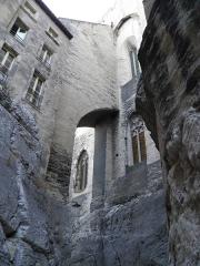 Palais des Papes -  Palais des papes à Avignon (Vaucluse, France).