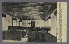 Palais épiscopal - Français:   Cours d\'assise du Palais de Justice de Carpentras