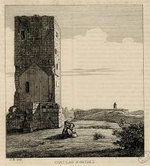 Vestiges du château Moncade -