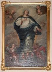 Eglise paroissiale Notre-Dame-de-la-Nativité -  Alsace, Bas-Rhin, Saverne, Église Notre-Dame-de-la-Nativité (PA00084954, IA00055464).   Tableau