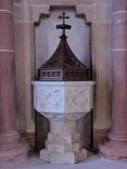 Eglise catholique - This object is inscrit Monument Historique in the base Palissy, database of the French furniture patrimony of the French ministry of culture,under the referenceIM67016687.