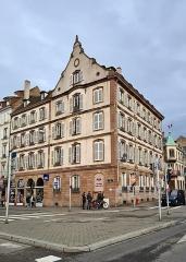Immeuble - Français:   Strasbourg: 6, quai Kléber