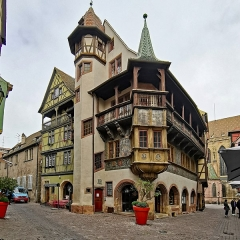 Maison - English:  Colmar (Haut-Rhin, France)