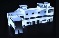 Villa La Roche, actuellement Fondation Le Corbusier - Русский:   Макет виллы Ла Рош\\Жаннере