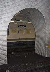 Métropolitain, station Botzaris - Deutsch:   Métrostation Botzaris in Paris