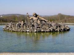 Domaine national -  Bassin de Scylla. Parc du château de Champs-sur-Marne (77).