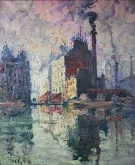 Maison d'Armande Béjart - Français:   Frank-Will (1900-1950), Les Usines des Moulineaux, à Issy, musée d\'art et d\'histoire de Meudon.