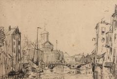 Maison d'Armande Béjart - Français:   Dessin au crayon de Frank Boggs représentant Dont, 1907, Musée d\'art et d\'histoire de la ville de Meudon