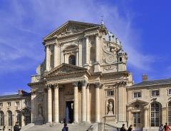 Ancienne abbaye du Val-de-Grâce, puis hôpital militaire - English:  Exterior of the church of Val-de-Grâce in the 5th arrondissement of Paris in France.
