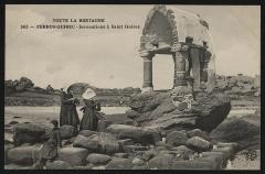 Oratoire de Saint-Guirec, à Ploumanac'h -