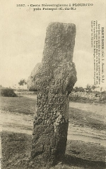 Croix monolithe -