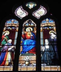 Ancienne abbaye de Saint-Guénolé - Français:   Mgr de Saint-Luc et Vénérable Victoire de Saint-Luc