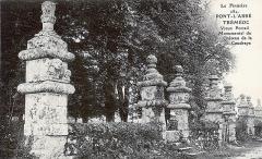 Château de la Coudraie - Français:   Tréméoc: le vieux portail monumental du château de la Coudraie (carte postale, vers 1920)