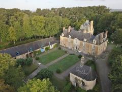 Château du Bois-Glaume - Français:   Vue d\'ensemble du Château du Bois Glaume