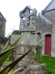 Croix Merhan - Français:   Le calvaire de Callac en Plumelec (Morbihan).