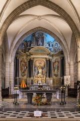 Eglise Notre-Dame-de-la-Joie -  Maître-autel de la basilique Notre-Dame-de-la-Joie de Pontivy.