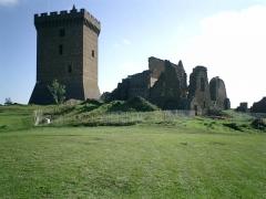 Ruines du château fort -  Le puy en velay25 - a Polignac