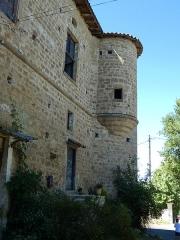 Ancien château - Français:   Le logis du 17e s.