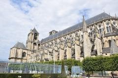 Cathédrale Saint-Etienne - Français:   Cathédrale Saint-Étienne de Bourges
