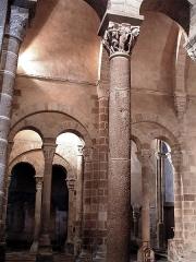 Eglise Saint-Genès (anciennement église prieurale Saint-Etienne) - Français:   Châteaumeillant - Église Saint-Genès - Chœur