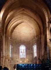 Eglise Saint-Genès (anciennement église prieurale Saint-Etienne) - Français:   Châteaumeillant - Église Saint-Genès - Abside