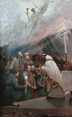 Eglise Saint-Lucain - French painter